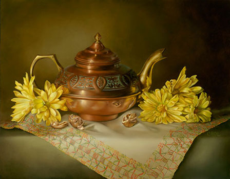 Singularly Saffron by Cheryle Rol