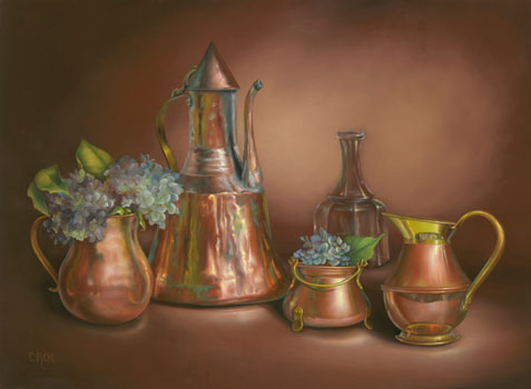 Copper Collection by Cheryle Rol