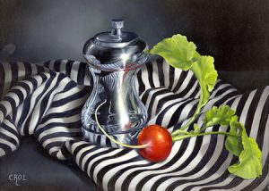 Zentangle in Oils by Cheri Rol
