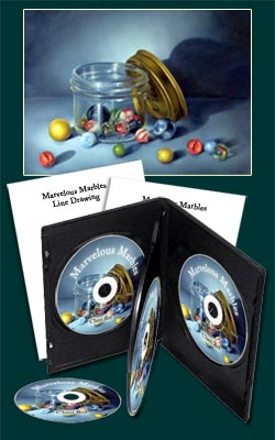 Marvelous Marbles DVD with Cheri Rol