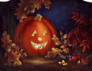 October Calendar Still Life by Cheri Rol