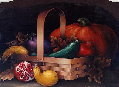 Calendar Still Life - Thanksgiving November by Cheri Rol