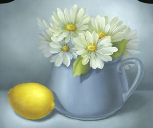 Daisies and a Lemon by Cheri Rol