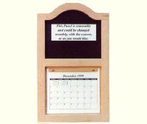 Solid Oak Calendar Frame