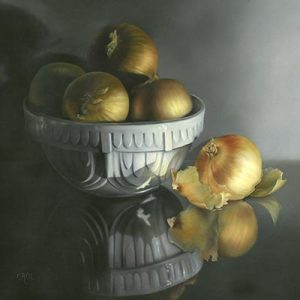 Bowl of Onions by Cheri Rol