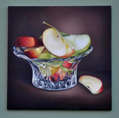 Juicy Fruit Apples by Cheri Rol