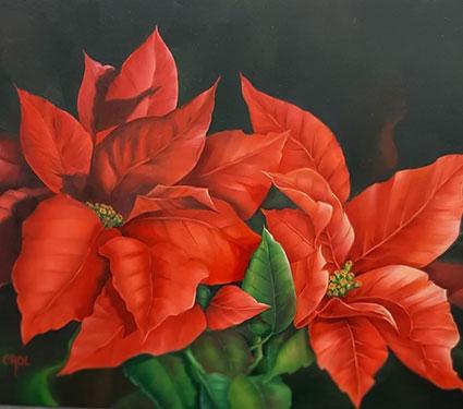 Christmas Leaves by Cheri Rol